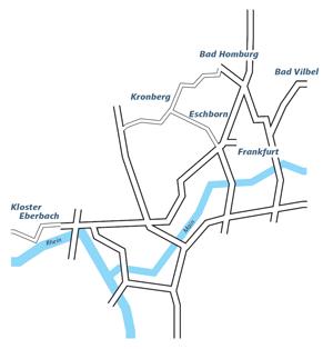 Blickachsen 12 Standorte